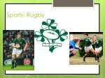 sports rugby