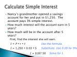 calculate simple interest2