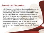 scenario for discussion1