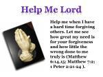 help me lord10