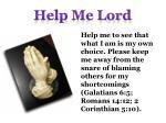 help me lord15