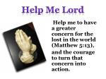help me lord3