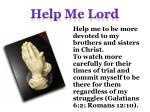 help me lord4