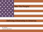 we the people defining citizenship in america