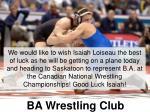 ba wrestling club