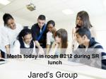 jared s group