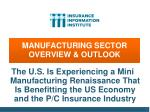 manufacturing sector overview outlook