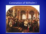 coronation of wilhelm i