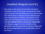 unedited telegram cont d