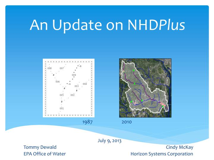 an update on nhd plus n.