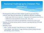 national hydrography dataset plus nhd plus