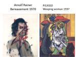arnolf rainer bereavement 1970