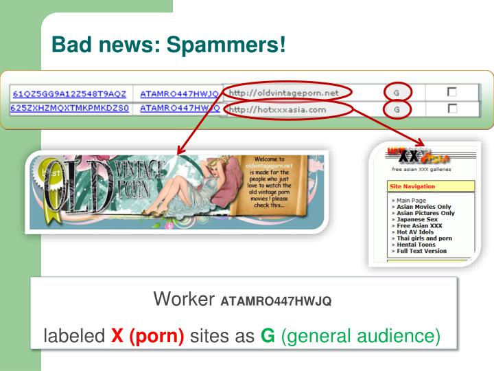 Bad news: Spammers!