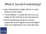 what is social fundraising6