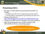 preventing uac s