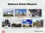 baltimore district missions