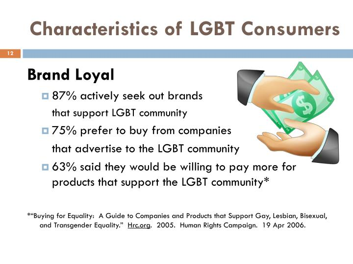 "marketing to lgbt consumers is the 11th annual lgbtq marketing & advertising symposium  approached lgbt consumers with an authentic voice leveraging a ""pilot to program"" approach."