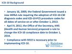 icd 10 background