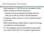 aca employer provisions1