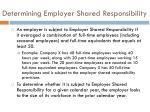 determining employer shared responsibility