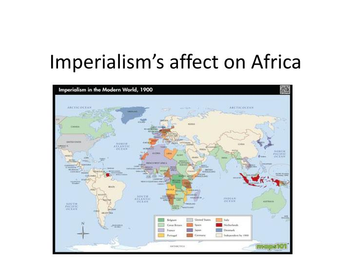 imperialism s affect on africa n.