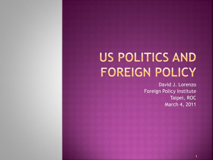 us politics and foreign policy n.
