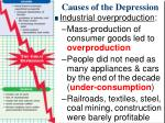 causes of the depression1