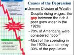 causes of the depression2