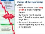 causes of the depression3