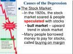 causes of the depression4