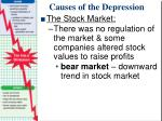 causes of the depression5