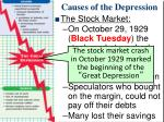causes of the depression6
