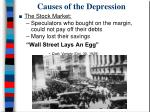 causes of the depression7