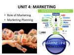 unit 4 marketing