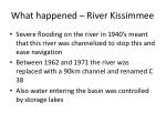 what happened river kissimmee