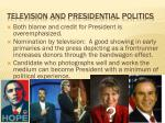 television and presidential politics