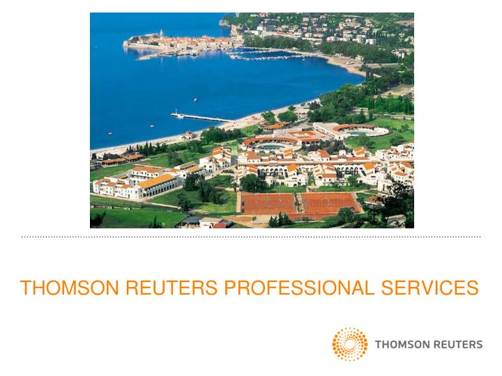 thomson reuters professional services n.