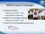 million hearts campaign