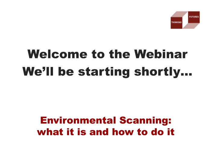 environmental scanning what it is and how to do it n.