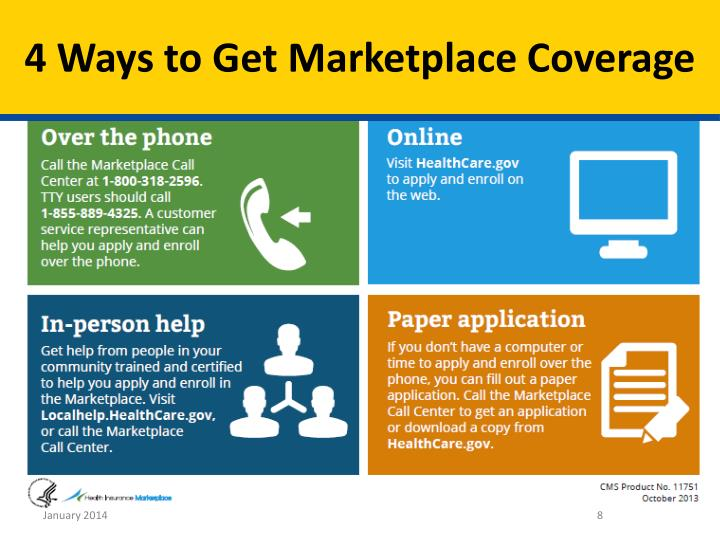 4 Ways to Get Marketplace Coverage