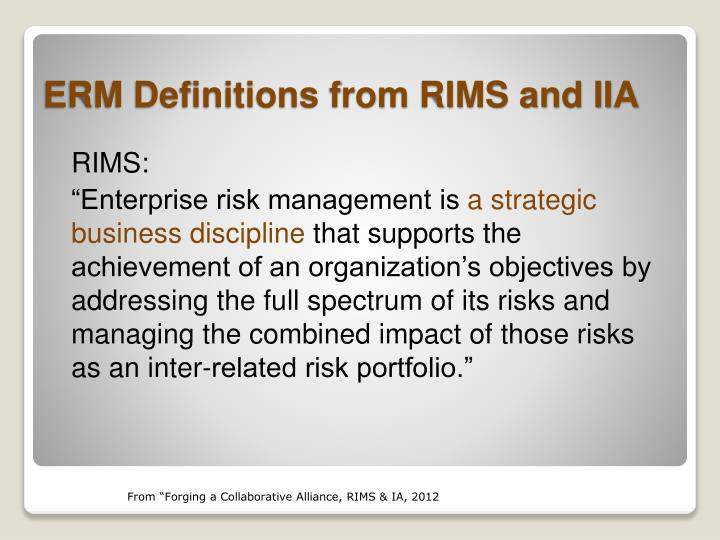 RIMS:
