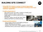 building site connect