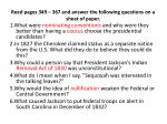 read pages 349 367 and answer the following questions on a sheet of paper