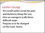 lenten liturgy5