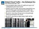 global cloud traffic the zettabyte era cisco global cloud index 2011