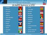 26 nato nations in sto