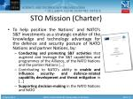 sto mission charter