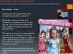 puppet pals hd by polished play llc https itunes apple com us app puppet pals hd id342076546 mt 8