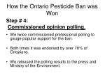 how the ontario pesticide ban was won2
