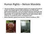 human rights nelson mandela1